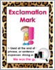 Jungle Theme Punctuation Posters