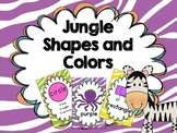 Jungle Theme Shapes and Colors