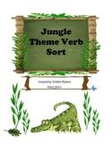 Jungle Theme Verb Sort