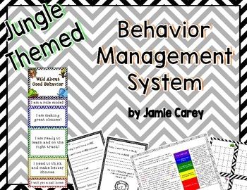 Jungle Themed Behavior Management System