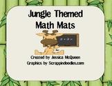Jungle Themed Math Mats