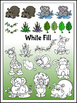 Jungle Tots Clipart (10 FREE Elements included!)  Embellis