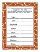 Jungle Word Wall Safari