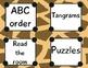 Jungle theme centers clip chart bundle! 3 CHARTS!