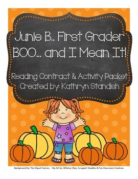 Junie B., First Grader BOO...and I Mean It! (Reading Contr