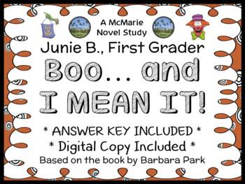 Junie B., First Grader Boo... and I Mean It! (Park) Novel