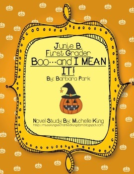 Junie B., First Grader Boo...and I MEAN IT!