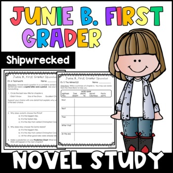 Junie B., First Grader Shipwrecked: Complete Unit of Readi