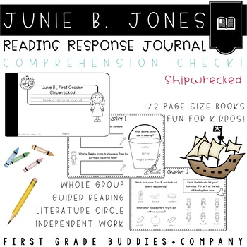 Junie B., First Grader: Shipwrecked Reading Response Journal