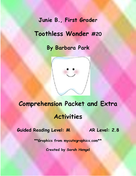 Junie B., First Grader Toothless Wonder #20 by Barbara Par