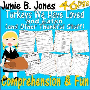 Junie B, First Grader, Turkeys We Have Loved and Eaten : C