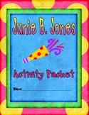 Junie B. Jones Activity Packet