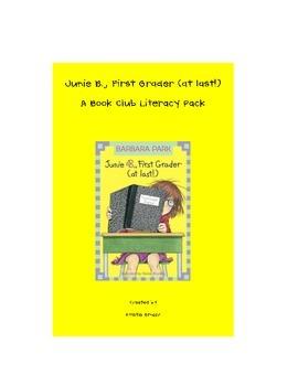 Junie B. Jones First Grader at Last! book club