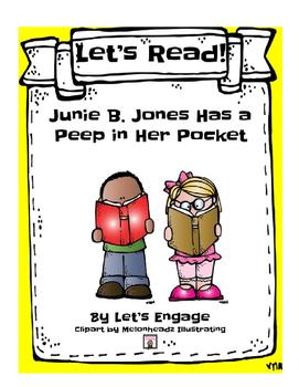 Junie B.Jones Has a Peep in Her Pocket: Let's Read! (Readi