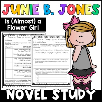 Junie B. Jones Is (Almost) a Flower Girl: Complete Unit of