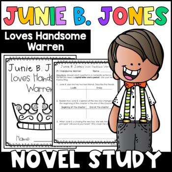 Junie B. Jones Loves Handsome Warren: Complete Unit of Rea