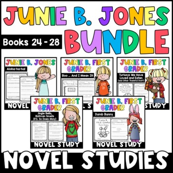 Junie B. Jones The BUNDLE: Reading Responses for Junie B.