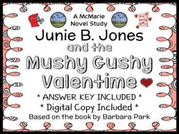 Junie B. Jones and the Mushy Gushy Valentime (Barbara Park