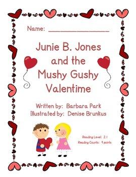 Junie B. Jones and the Mushy Gushy Valentime Reading Guide