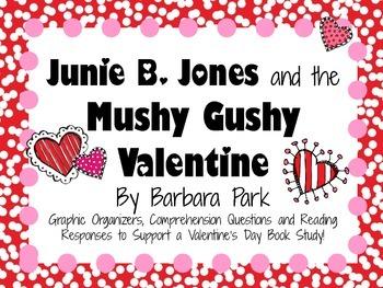 Junie B. Jones and the Mushy Gushy Valentine by Barbara Pa