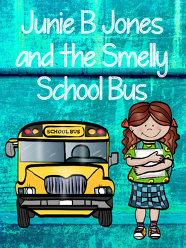 Junie B Jones and the Stupid Smelly School Bus - Book Packet
