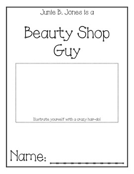 Junie B. Jones is a Beauty Shop Guy Comprehension Packet