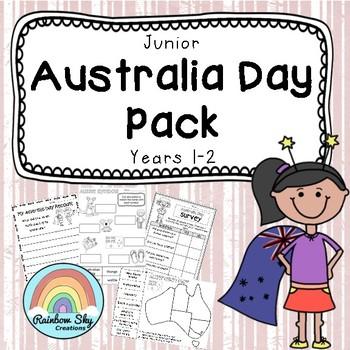 Junior Australia Day Pack - Year 1 - 2