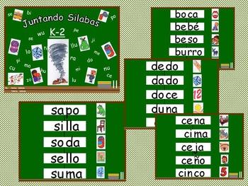 Bilingual Resources - blending - Juntando Sílabas (2)
