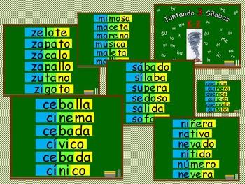 Bilingual Resources - blending - Juntando Sílabas (3)