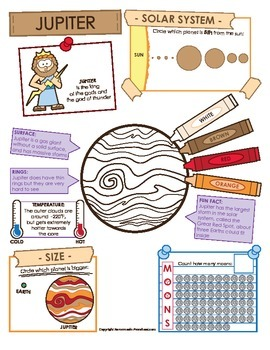 Jupiter Facts and Activities