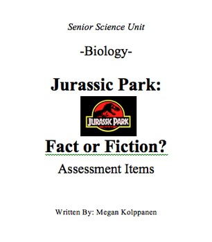 Jurassic Park: Fact or Fiction?