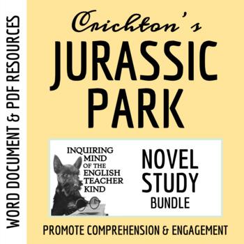 Jurassic Park Novel Study Bundle