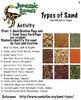 Art ... Free! Jurassic Sands - 4 Activities: Sand Sediment