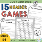 Just Add Dice! Math Games