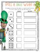 Just Add Dice St Patrick's Day Math Games!  Print and Go!