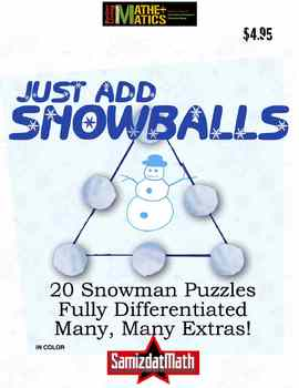 Addition Combination Puzzles: Just Add Snowballs!