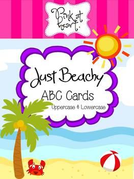 Just Beachy - ABC Cards