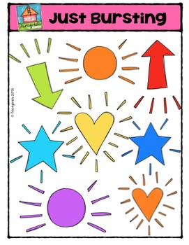 Just Bursting {P4 Clips Trioriginals Digital Clip Art}