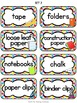 """""""Just Colors"""" Classroom Supply Labels"""