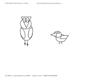 Just Different - Free Coloring Sheet #2