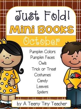 Just Fold! Mini Books {October}