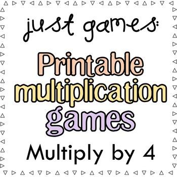 Multiplication Games x4