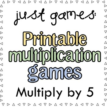 Multiplication Games x5