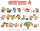 Just Kidz (Kids) Cartoon Clipart Vol. 4