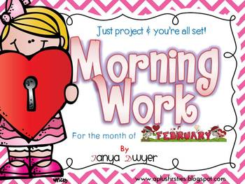 Just Project and You're ALL Set! {February Morning Work}