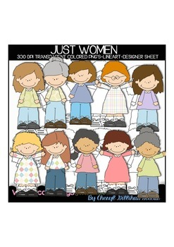 Just Women Clipart Collection