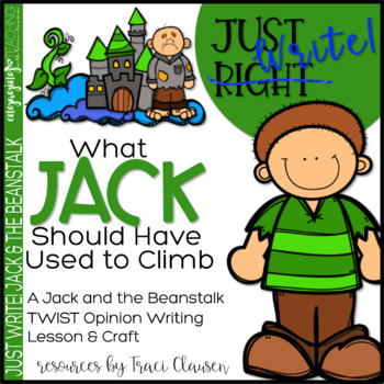 Writing - Opinion - Fairy Tales - What Jack Should Have Us