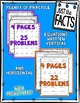 Just the Facts- 4s Multiplication Tables