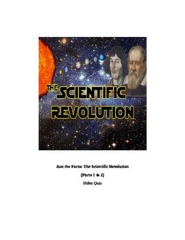 (Newton, etc.) Just the Facts: THE SCIENTIFIC REVOLUTION V