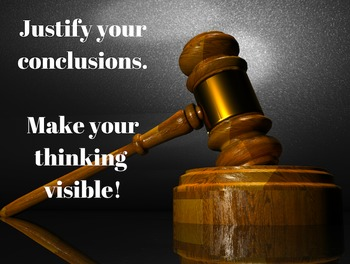 Justify Your Thinking POSTER